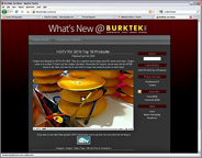 Burktek News Site featuring news about the Cordpro and Pocketwrench